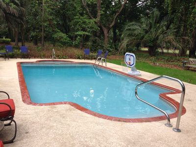 Photo for IMMACULATE BEACH HOME, PEACEFUL POOL, GOLF COURSE & JUST OVER 1Mi. TO BEACH!