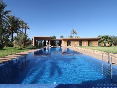 Photo for Exceptional architect villa on the outskirts of Marrakech