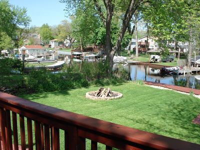 Photo for Cute Waterfront Cottage On Long Lake W/ 50 Foot Private Dock & Pier