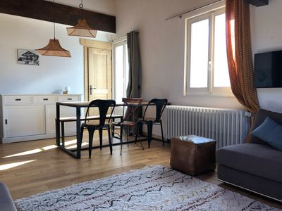 Photo for Charming apartment of 71m2 duplex. Spacious, cozy and full center!