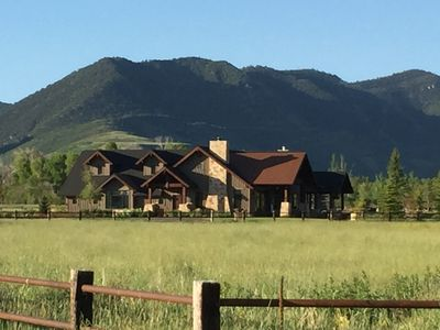 Photo for 20 Minutes to Park City.  Enjoy your own Private  Ranch w/ private trout pond