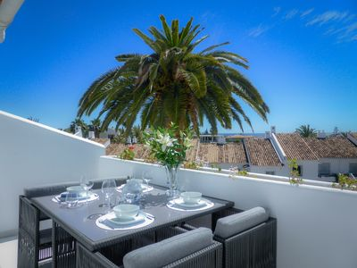 Photo for Stunning penthouse located in Andalucia Garden Club, Puerto Banus!