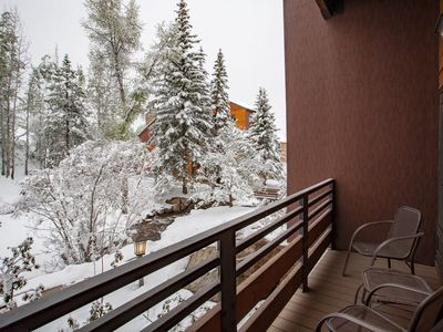 Photo for Peace/Quiet near Base Area - Hot Tubs, Fire Pit, Views - Discount Lift Tix Avail