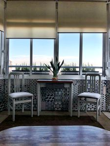 Photo for Bright studio full center, sea view, WiFi, Air cond. Heating