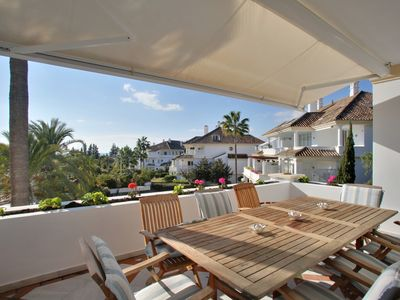 Photo for Monte Paraiso- Golden Mile Apt - Apartment for 8 people in Marbella
