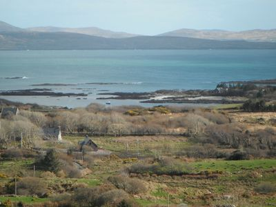 Photo for Westcove Upmarket Stone cottage with excellent views