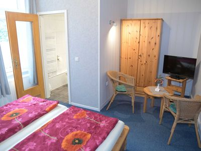 Photo for Rooms 4 and 5 with shower / WC in the EC - family room - Pension Pohnsdorfer Mühle guest rooms