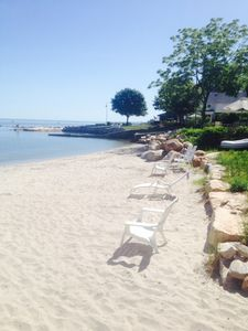 1 of 2 private beaches!  This one is across the street from your house! 1 min.