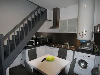 Photo for house in the heart of Dieppe, 8 minutes from the beach, 100 meters from the pedestrian street