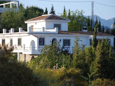 Photo for Villa with private pool, gardens, terraces, sea and mountain views