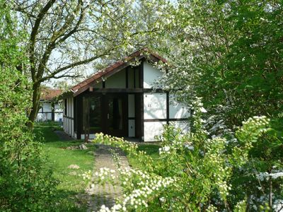 Photo for Holiday house 43 Mohawk 40sqm up to 5 persons with pets - House Mohawk in the holiday village Altes
