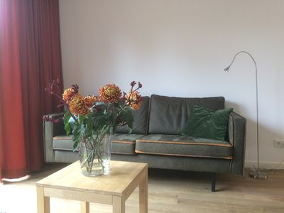 Photo for New, attractive and spacious apartment with comfort, within walking distance of forest / beach.