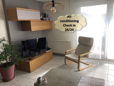 Photo for T2 Cozy and quiet 40m2 near Eurexpo and Gerland