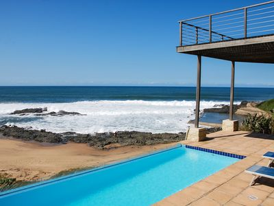 Photo for Magnificent home on the beautiful warm beach of Tinley Manor in South Africa
