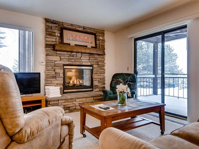 Photo for Corner condo in Canyons - close to ski lifts w/ shared pools, hot tub, & sauna