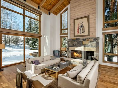 Photo for Creek Lane Chateau- 5 Bedroom with Amazing Ski Access , new construction