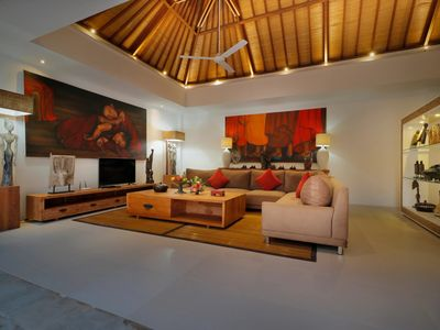 Photo for NEW:Modern & Ethnic Style Villa LAGOON, great location 5 min from the beach