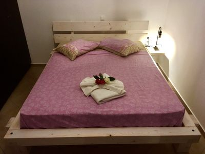 Photo for Cozy apartment in Chania - private parking -90sq.m