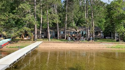 Awesome Gull Lake Beach Cabin w/ 2017 Sylvan Pontoon & Rockwood trailer!