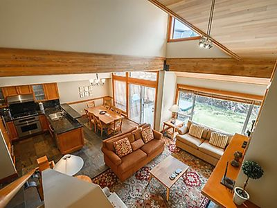 Photo for Whistler Village Luxury Townhome with Mountain Views - Sleeps 8