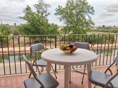 Photo for Apartment with excellent views of the Ebro Delta
