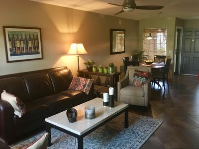 Photo for Charming 1st Floor 2 Bedrm Condo off the Ventana Canyon Golf Course with Priv
