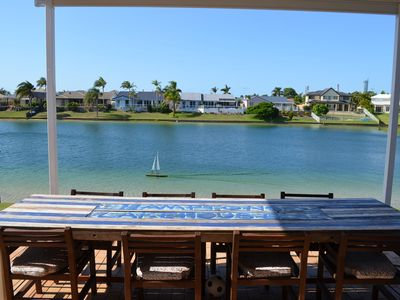 Photo for Broadbeach Hamptons Lake House Huge Home with Swimmable Lake