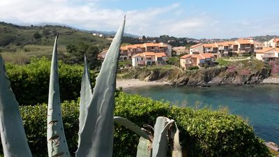 Photo for Villa 4 people exceptional sea view with beach 100 meters