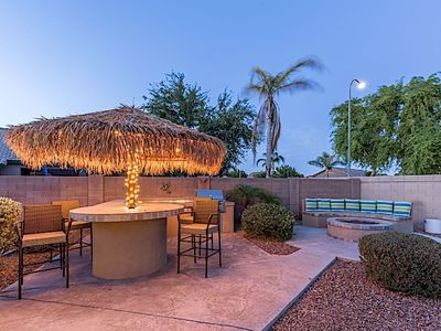 Photo for Backyard Paradise in Avondale: New Listing! Private pool, tiki bar, huge yard