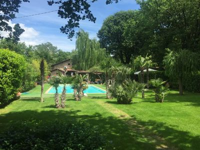 Photo for Tuscan rustic villa with pool, wifi, outdoor jacuzzi,
