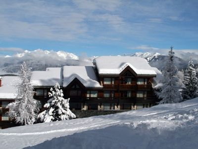 Photo for Valmorel, at the foot of the slopes, 2 rooms, 4 people.