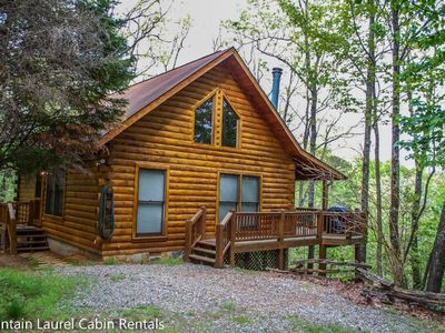 Photo for Hot Tub, WIFI, Pet Friendly, Wood Burning Fireplace, Only $125/Night!