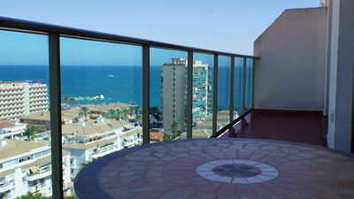 Photo for Luxury penthouse in Benalmádena Playa