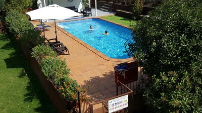 Photo for Families: 5 rooms + bath, private heated pool, jacuzzi, games area