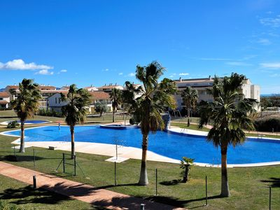 Photo for Luxury holiday home in the Golf Paradise Panoramica Sant Jordi - f8 pers, free WIFI