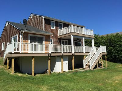 Photo for Montauk Beach House W Dist to Private Beach-Spec August-7to21days $4,000/$12,000