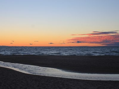 Photo for Private beach is one of the most beautiful in Southwest Michigan