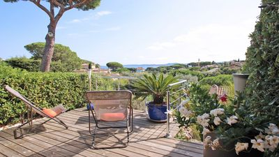 Photo for House 4/6 people - Sea view - Swimming pool residence - Wifi - Sainte Maxime