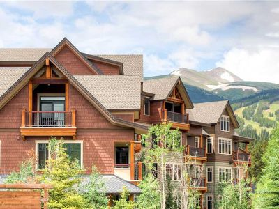 Photo for Mountain Majestic luxury condo with private balcony, summer scenic views