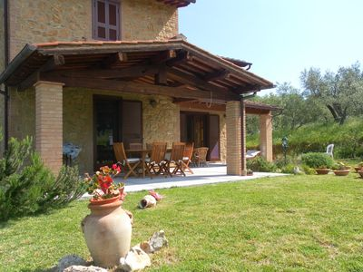 Photo for Tuscan style home in Etruscan landscape