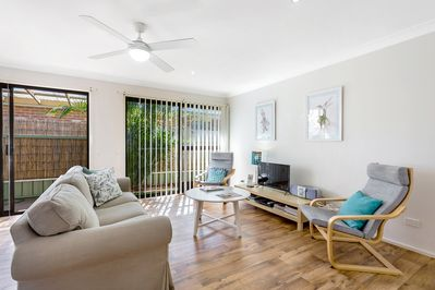 Relaxed and easy care living area for all our guests