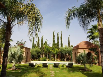 Photo for Luxurious Villa: Private Garden and Pool Not overlooked, Housekeeper and Services