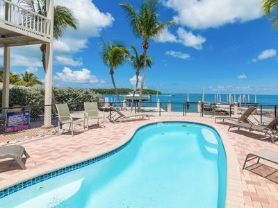 Photo for LUXURY OCEAN FRONT/PRIVATE ELEVATOR/DOCK/HEAT POOL. MARATHON  LIC PLR2017-00465
