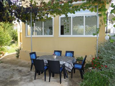 Photo for Two bedroom apartment with air-conditioning Privlaka, Zadar (A-13731-a)