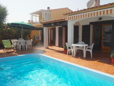 Photo for Very nice house on ground floor, with private pool. Two bedrooms, two bathrooms ( one with