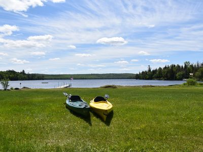 Piper Pond Waterfront- Relax, Swim, Kayak, Hike, Fish, Hunt, ATV, Snowmobile