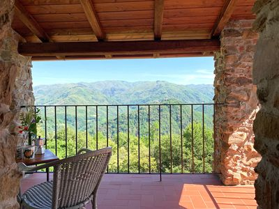 Photo for House Brunello In Valli with breathtaking view