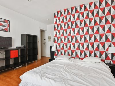 Photo for Bright and modern apartment in Vauban student district of Lille – Welkeys