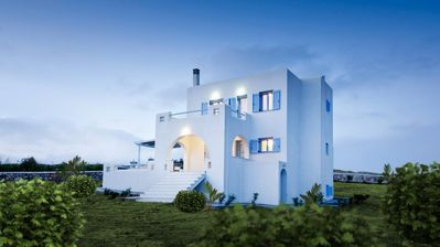 Photo for Luxury and Spacious Villa with uninterrupted view to the Aegean Sea