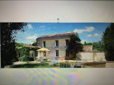 Photo for 3BR Cottage Vacation Rental in Champagne, Nouvelle-Aquitaine
